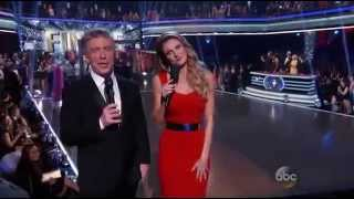 Erin Andrews and Tom Bergeron on Season 19 Outtakes - Finale