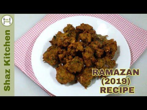 Chicken Keema Pakora Recipe_Ramzan Special (In Urdu) By Shaz Kitchen