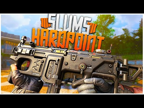 SLUMS HARDPOINT! - BO2 THROWBACK! - Black Ops 4 Road to Commander S1 Ep. 2!
