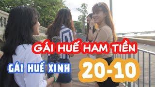 Con Gái Ở Đâu Ham Tiền Thục Dụng Nhất - Gái Huế Xinh - Phỏng Vấn Poo Teams 2018