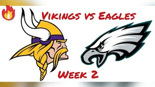 Vikings vs Eagles (Wk 2 NFL 2K5)