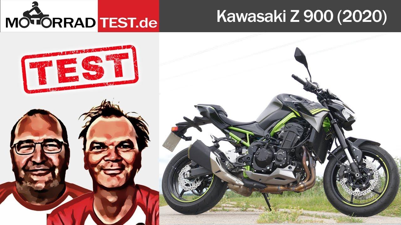 Kawasaki Z900 (2020)   Test der neuen, facegelifteten Z 900 von Kawasaki