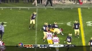 Matt Barkley vs Notre Dame