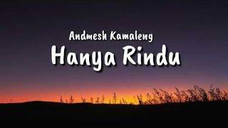 HANYA RINDU-ANDMESH Cover by Dasep feat Fauzi Video lirik