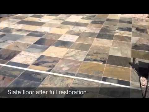 Slate Floors Restoration YouTube