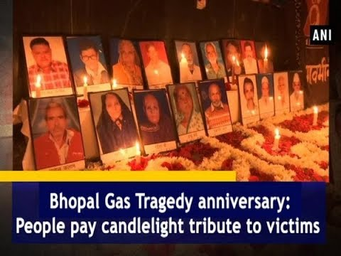 Bhopal Gas Tragedy Anniversary: People Pay Candlelight Tribute To Victims - Madhya Pradesh #News