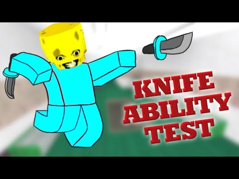 ROBLOX KNIFE ABILITY TEST | DESTRUCTION!