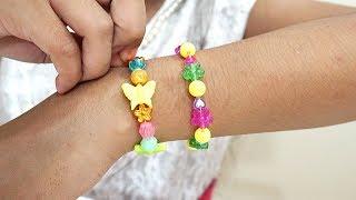 Mainan Anak Perempuan membuat Gelang dan Kalung Sendiri 💖 Let's Play Jessica