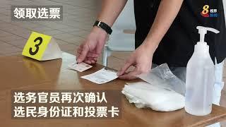 ge13 【新加坡大选】疫中选举  投票站内如何确保选民安全?