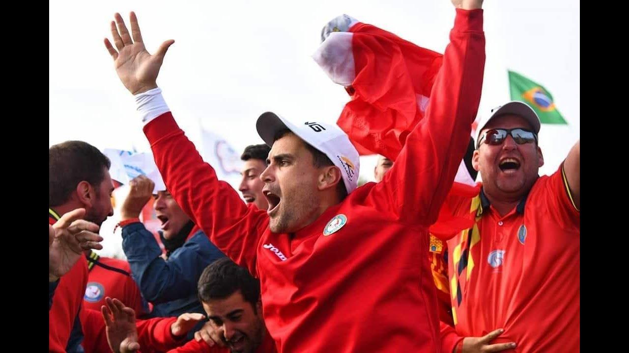 Asi fue la histórica gesta de España en su primer Mundial de FootGolf