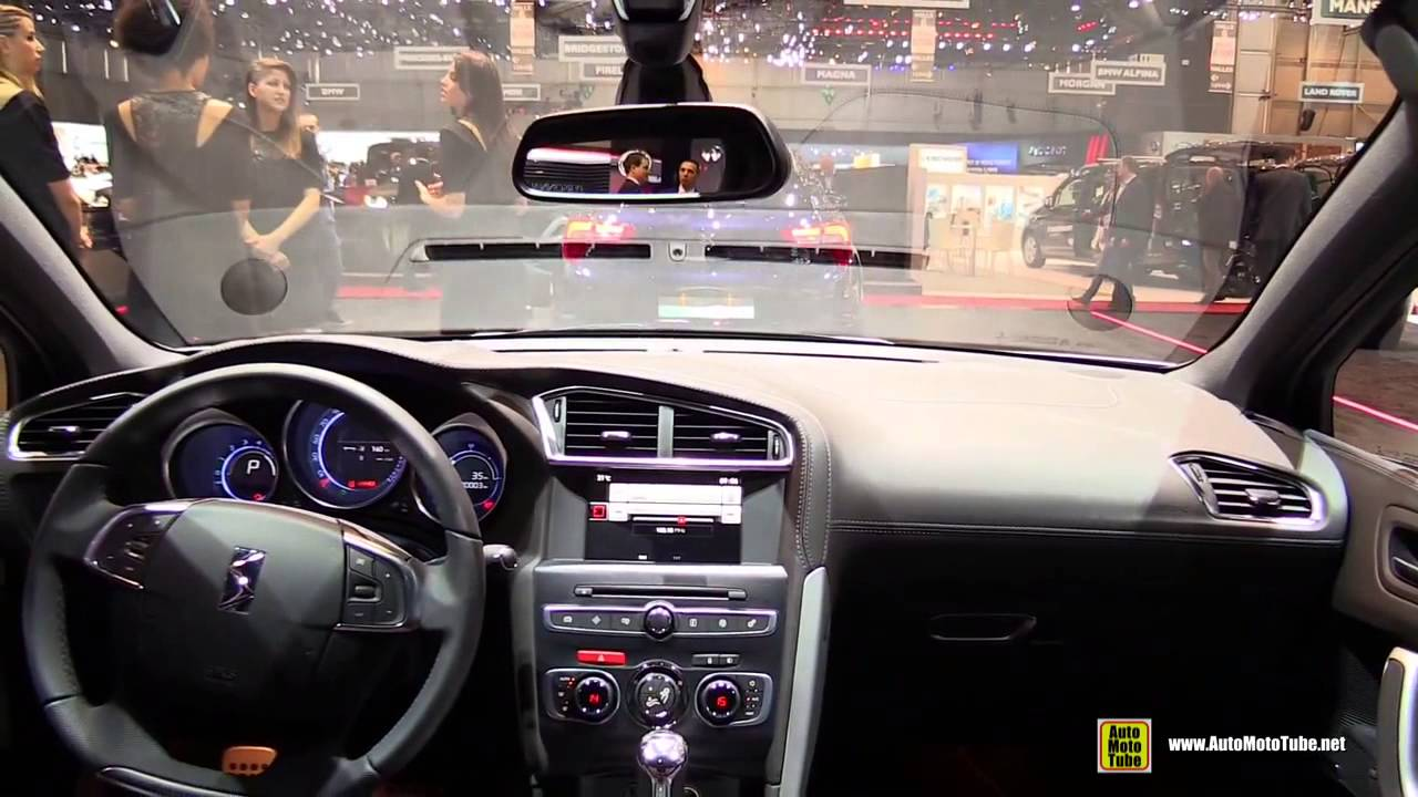 2015 Citroen DS4 - Exterior and Interior Walkaround - 2015 Geneva ...