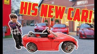 I BOUGHT MY NEPHEW HIS DREAM CAR *emotional*