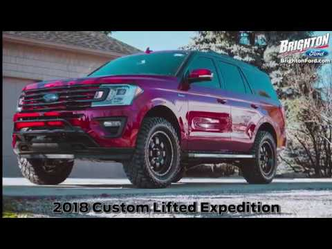 Custom Lifted 2018 Expedition FX4 Near Howell | Brighton Ford