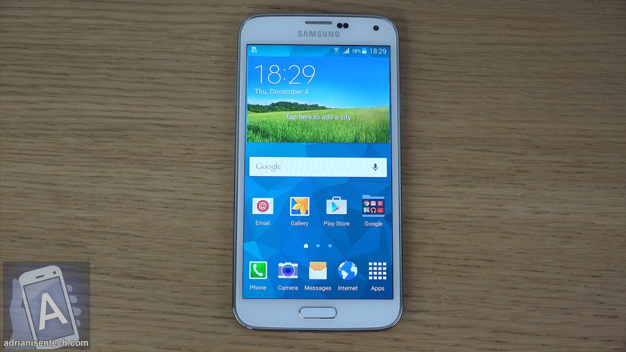 Samsung Galaxy S5 Official Android 5.0 Lollipop