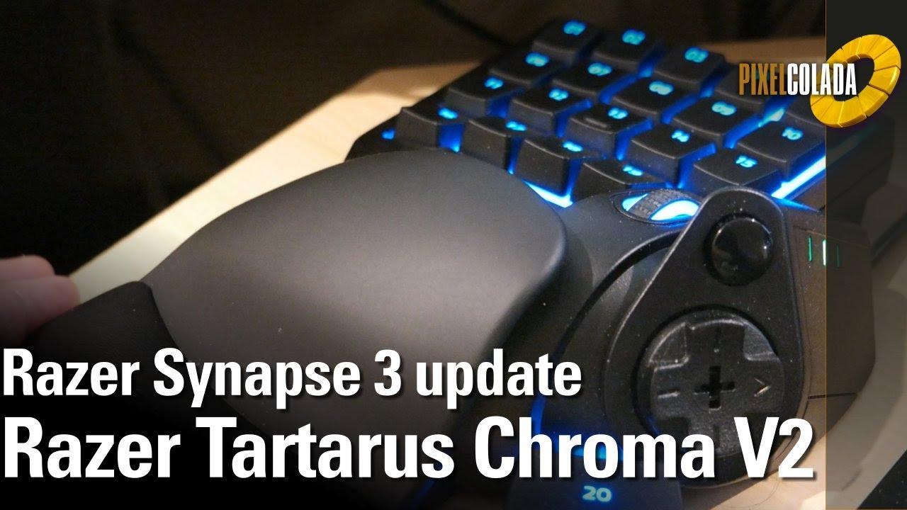 Razer Synapse 3 with Tartarus Chroma V2 Update