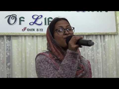 Nile Nile aashma  hindi song By Mariyam Sunar Gangtok Elshaddai