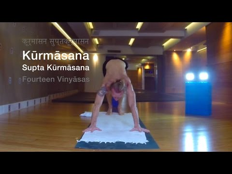 "Ashtanga Yoga Transitions - Nigel Marshall ""Kurmasana Supta Kurmasana"" - Hong Kong, November 2015"