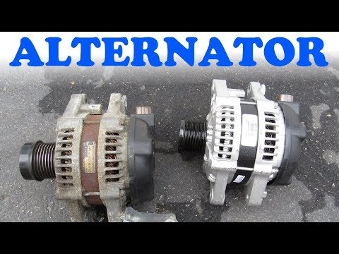 Alternator Replacement –  Toyota & Lexus V6