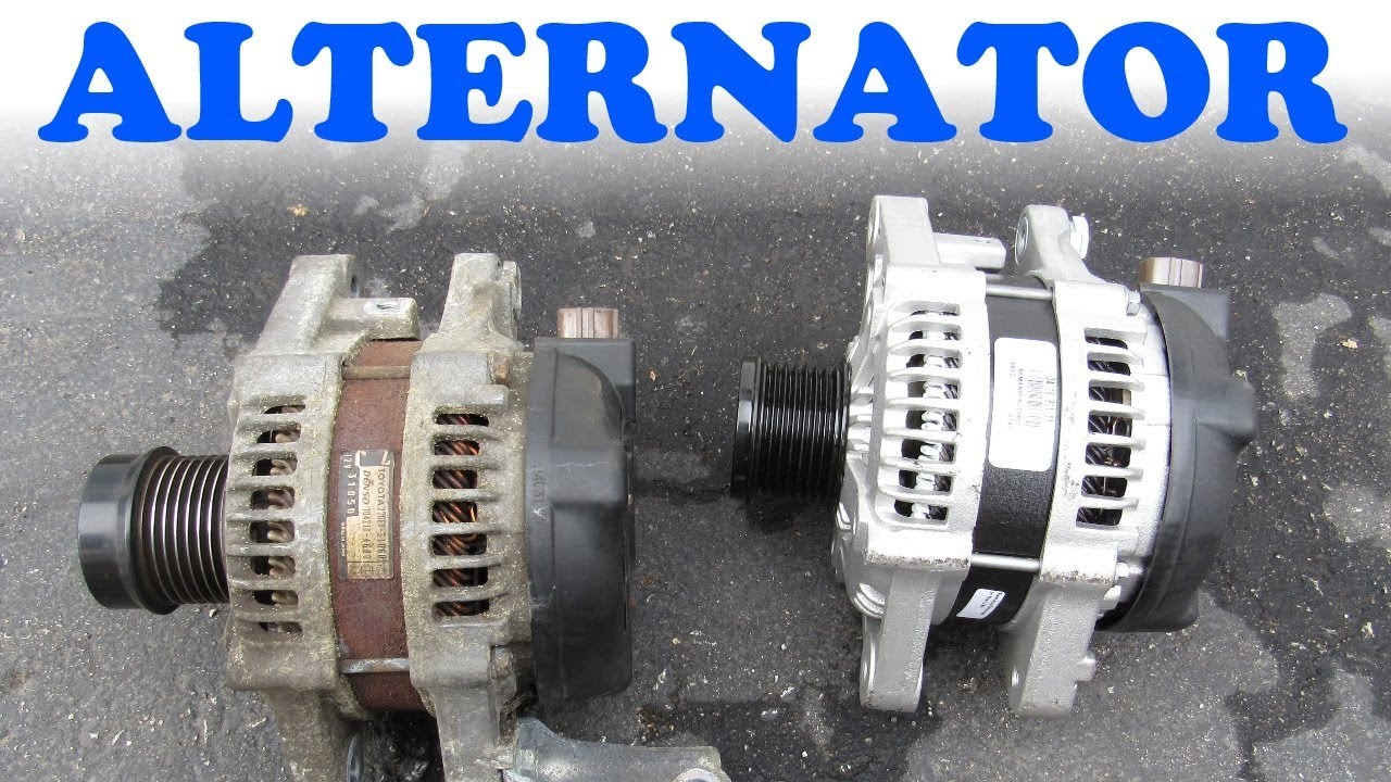 hight resolution of alternator replacement toyota lexus v6