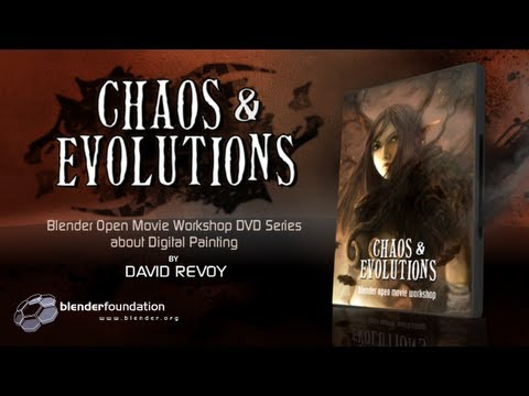 Chaos&Evolution - Digital Painting 1h30 open tutorial