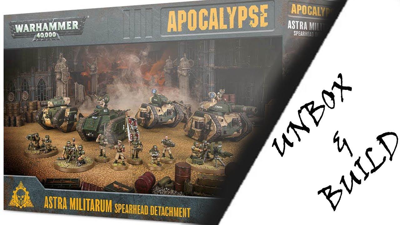 Warhammer 40k Apocalypse Astra Militarum spearhead Detachment battleforce