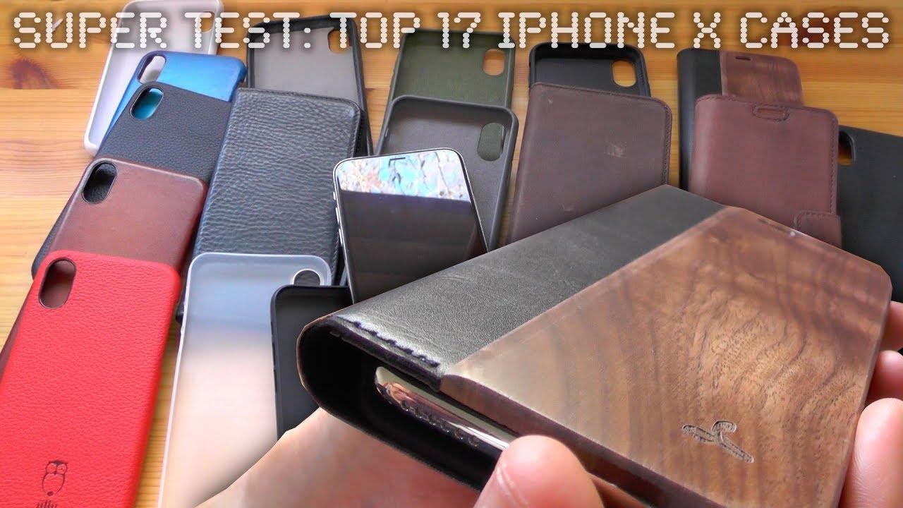 11505adf2 Top 17 iPhone X Cases - Clip, Folio, Protection, Luxury - YouTube