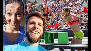 TAKING ON THE WEIRD CROSSFIT GAMES EVENTS