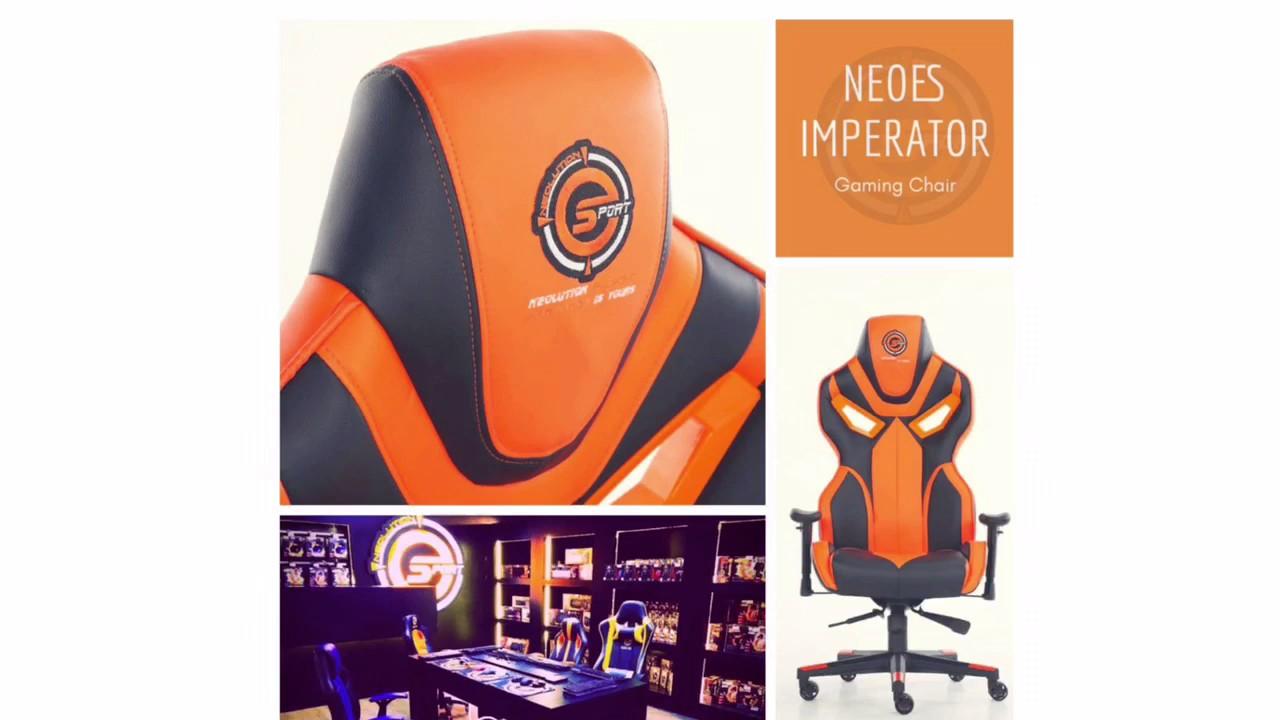 imperator works brand gaming chair 1800 koken barber neolution esport design youtube