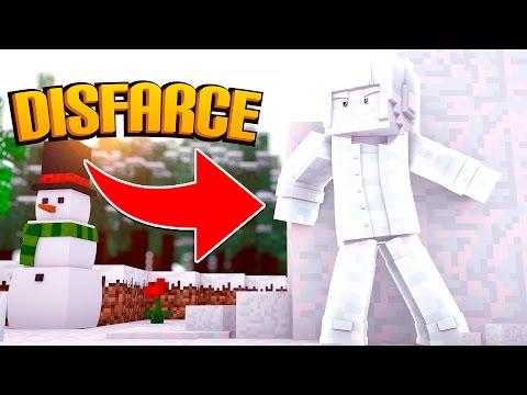 Minecraft: DISFARCE DE NEVE - (Esconde-Esconde)