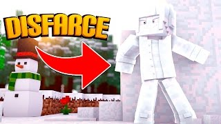 Minecraft: DISFARCE DE NEVE - (Esconde-Esconde)