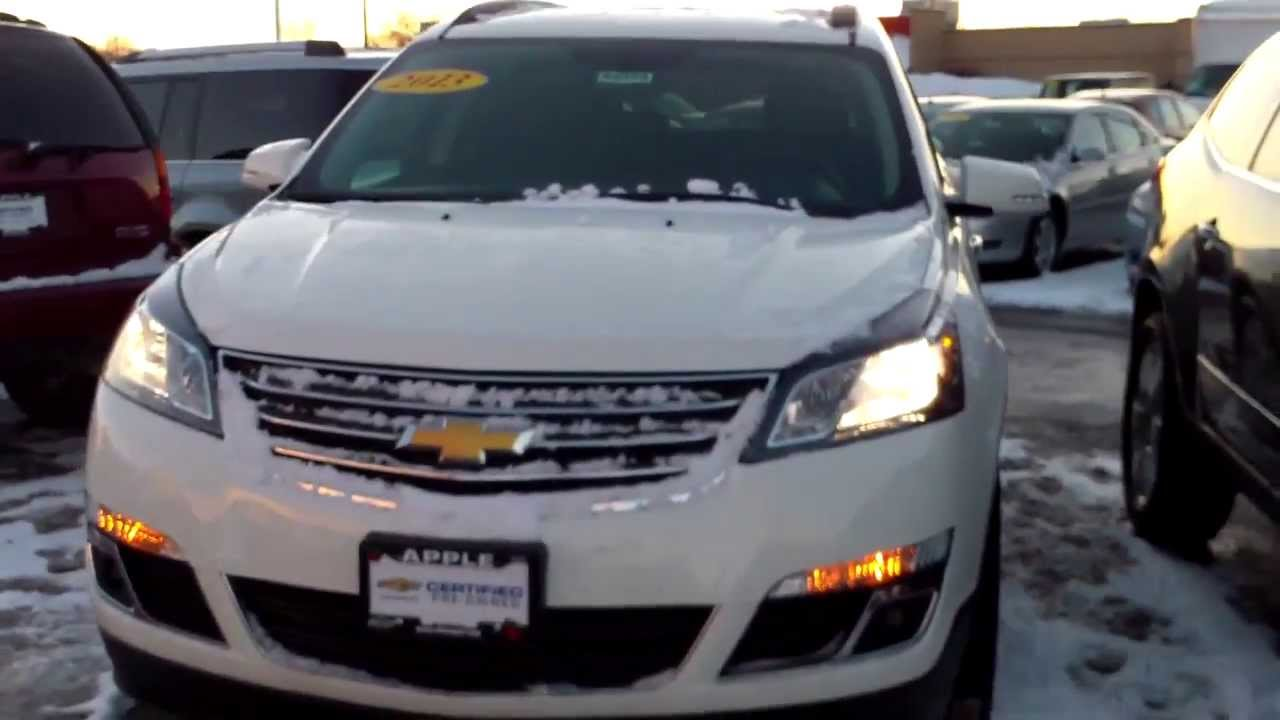 2013 Chevy Traverse, Apple Chevrolet, Tinley Park, IL
