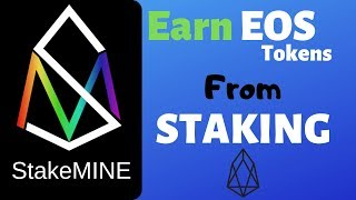 Earn EOS Tokens From Staking EOS