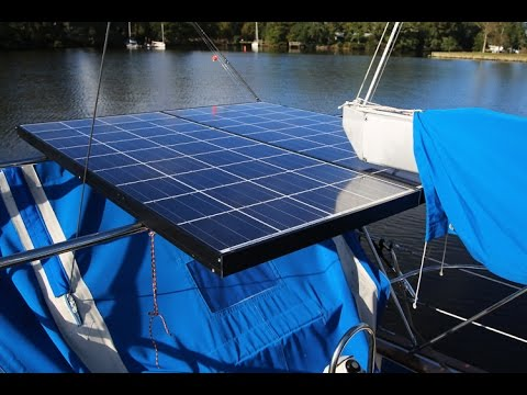 EP 09: Solar & Wind Generator Installed on our Sailboat