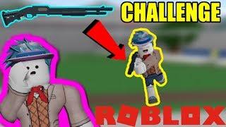 Shotgun Challenge 🔥 Roblox Gefängnisleben