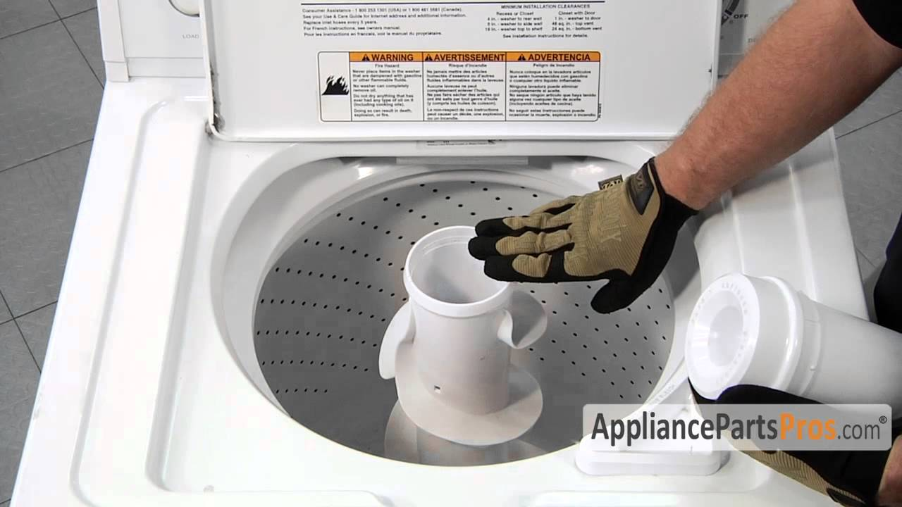 Washer Agitator Repair Kit, Spring Loaded (part #285810) - How To Replace