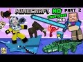 AQUARIUM ATTACK MO CREATURES MOD Showcase 2 LAND CREATURES CRAZYNESS FGTEEV Minecraft mp3