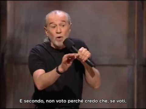 Download George Carlin - Votare  (sub ita)