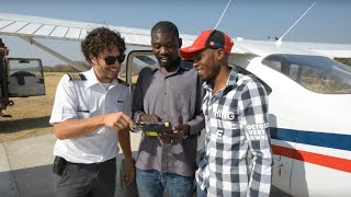 Four volunteers build epic app for aviation charity
