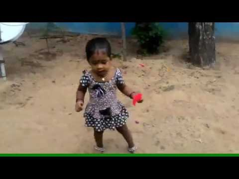 Cute baby dance for tamil song - 2