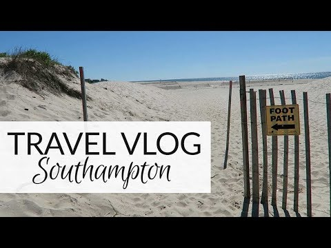 Travel Vlog | A Day in Southampton | June 2017