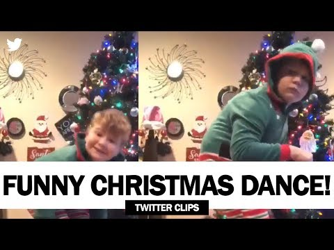 Boy Dancing in Christmas Costume (Rich The Kid - Splashin Ft. Seth) | Viral on Twitter!