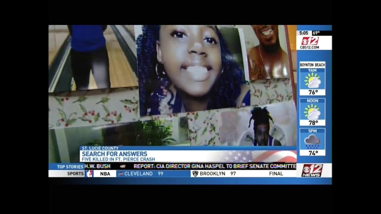 Fort Pierce 6 Crash: Tanner Dashner DUI Crash News WPEC 12 04 2018 05 05