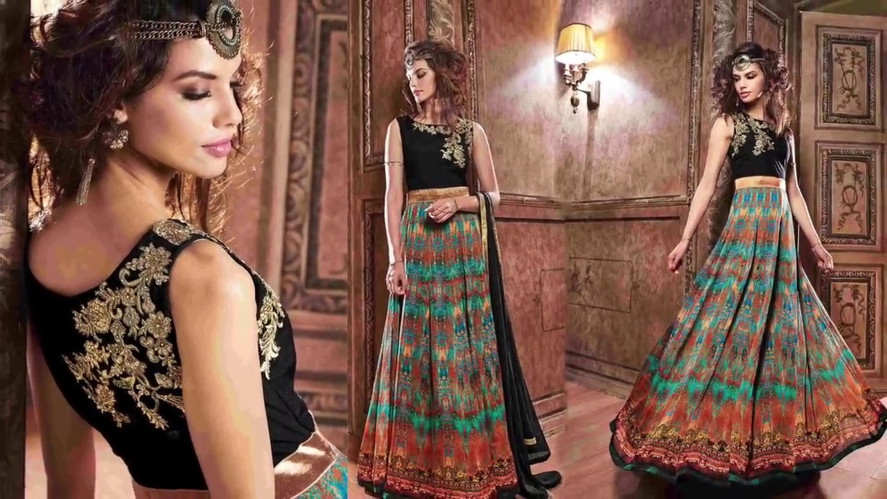 Party Dresses For Womens: Latest Indo Western Gown & Long