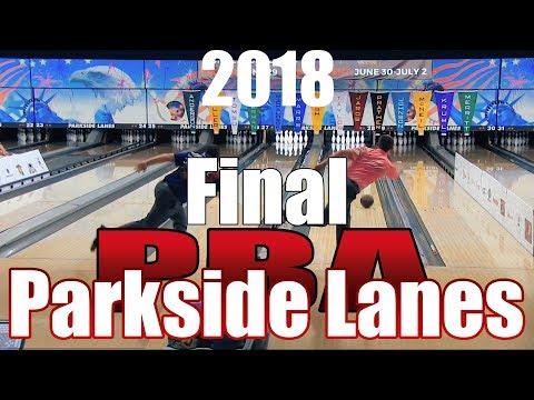 2018 Bowling - PBA Bowling Parkside Lanes Open Final - Bill O\'Neill VS. EJ Tackett