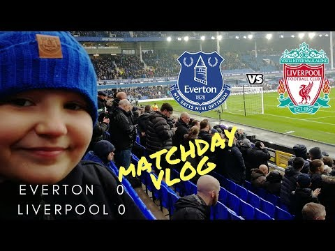 EVERTON v LIVERPOOL MERSEYSIDE DERBY DAY!!! 07/04/18  at Goodison Park