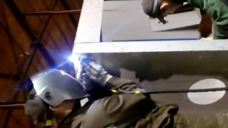 Сварка защитных шкафов из нержавейки(, 2016-06-14T14:00:10.000Z)
