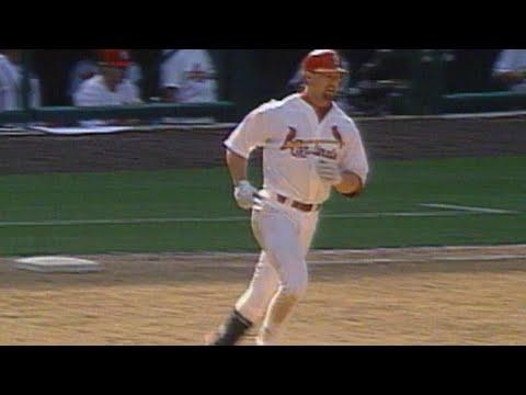 Big Mac's 24th homer ties game in 12th