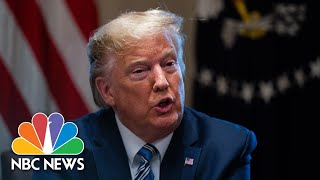 Trump: We'll Be 'Making Lots Of Small Business Loans' Amid Coronavirus Spread | NBC News NOW