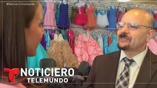 Sueños de quinceañeras impulsan economía de La Villita en Chicago | Noticiero | Noticias Telemundo