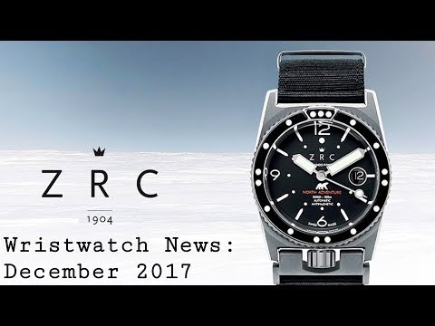 Wristwatch News: December 2017